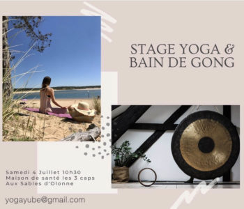 Yoga ety bain de gongs